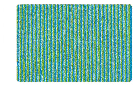 Badteppich Lana in kiwigrün, 50 x 60 cm