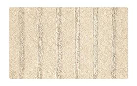 Badteppich Monrovia in sandbeige, 60 x 60 cm