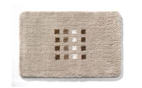 Badteppich Quadri in beige, 60 x 90 cm