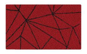 Badteppich Nizza in granat, 55 x 65 cm