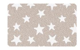 Badteppich Stars in Macadamia, 60 x 60 cm