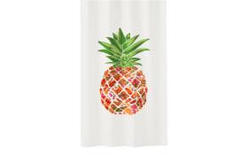 Duschvorhang Pineapple in multicolor, 180 x 200 cm