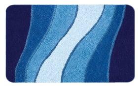 Badteppich Ocean in royalblau, 55 x 65 cm