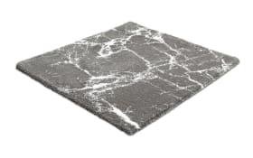 Badteppich Como in platin, 60 x 60 cm