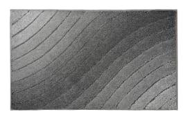 Badteppich Tender in anthrazit, 60 x 100 cm