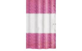 Duschvorhang Ray in burgund, 180 x 200 cm