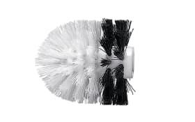 WC-Bürstenkopf Joker in schwarz/weiß