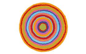 Badteppich mandala in multicolor Ø 60 cm