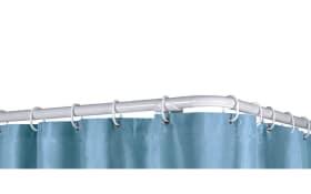 Duschvorhang-Ringe in weiß