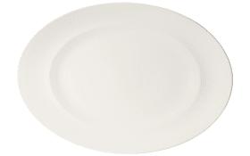 Servierplatte For Me in weiß, 41 cm