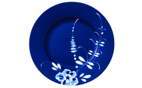 Frühstücksteller Vieux Luxemburg Brindille in blau, 22 cm