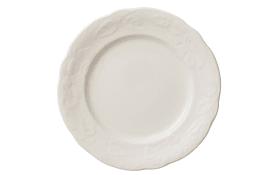 Frühstücksteller Rose Sauvage Blanche, 16 cm