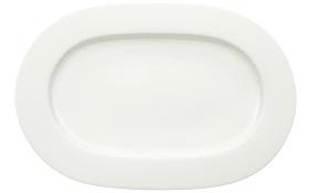 Platte Royal in weiß, 34 cm