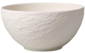 Bol Manufacture Rock Blanc in weiß, 14 cm