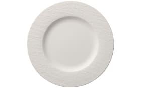 Speiseteller Manufacture Rock Blanc in weiß, 27 cm