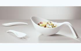 Salatset Flow in weiß