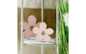 Deko-Blume in rosa 13 cm