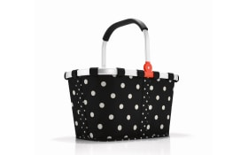 Carrybag in mixed dots, 28 x 48 cm