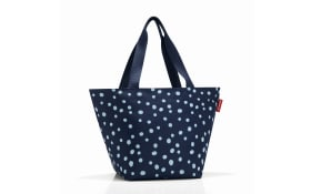 Shopper M in spoty navy, 51 x 30,5 cm