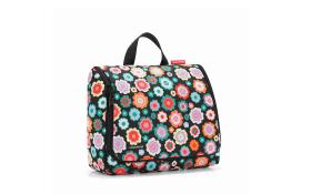 Toilet bag XL in happy flowers