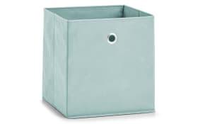 Aufbewahrungsbox in mint, 28 x 28 cm