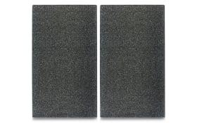 Herdabdeck- /Schneideplatten granit 2-er Set, 30 x 52 cm