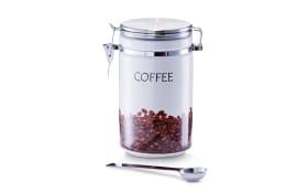 Kaffeedose mit Löffel,  19 cm