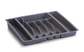 Besteckkasten Zeller ausziehbar in grau