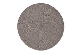 Tischset Twist in mocca, 38 cm
