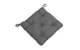 Stuhlkissen/Sitzauflage Gesa in grau, 40 x 7 x 40 cm