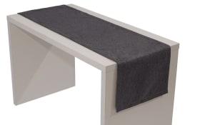 Tischläufer Loft in grau, 40 x 150 cm