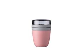 Lunchpot Ellipse mini in nordic pink, 12,8 cm