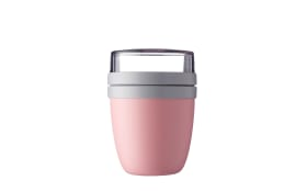 Lunchpot Ellipse mini in nordic pink, 15,1 cm