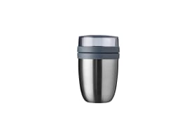 Thermo Lunchpot Ellipse in silber, 16,9 cm