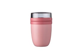 Thermo Lunchpot Ellipse in nordic pink, 16,9 cm