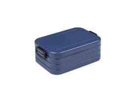 Lunchbox Take a Break in nordic denim, 12 x 18,5 cm