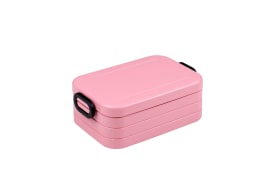 Lunchbox Take a Break in nordic pink, 12 x 18,5 cm