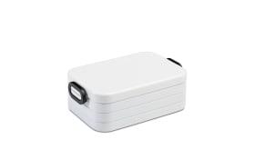 Lunchbox Take a Break in weiß, 12 x 18,5 cm