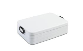 Lunchbox Take a Break in weiß, 25,5 x 17 cm