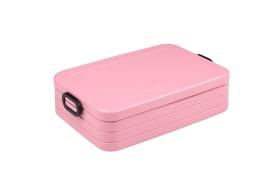 Lunchbox Take a Break in nordic pink, 25,5 x 17 cm