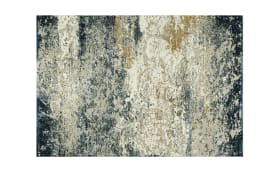 Teppich Canyon in beige/petrol, 80 x 150 cm