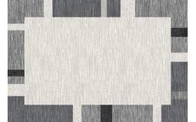 Teppich Mehari in grau,  67 x 140 cm