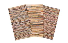 Handweb-Teppich Lindau in multicolor, 130 x 190 cm