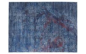 Teppich Rainbow Leja in blau, 70 x 140 cm