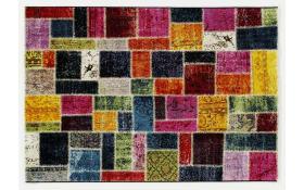 Teppich Happiness Random in multicolor, 65 x 130 cm