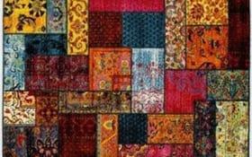 Teppich Happiness Ori in multicolor, 65 x 130 cm