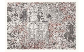 Teppich Juwel Dramatica in rosenholz, 65 x 130 cm