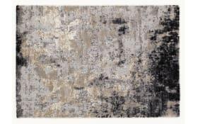 Teppich Juwel Awara in hellgrau, 65 x 130 cm