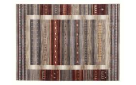Teppich Ovation Noma in beige/braun/rot, 50 x 77 cm