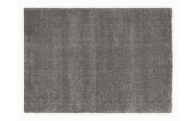 Teppich Louvre Melange in grau, 65 x 130 cm
